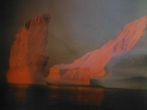 Icebergs off the coast of FOGO ISLAND